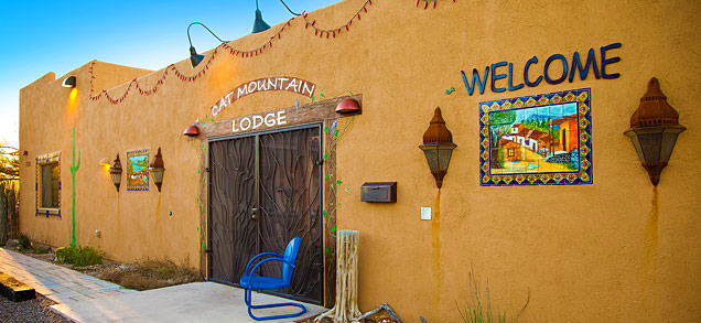 Welcome to Cat Mountain Lodge, a Bed & Breakfast in the Desert, Tucson, Arizona