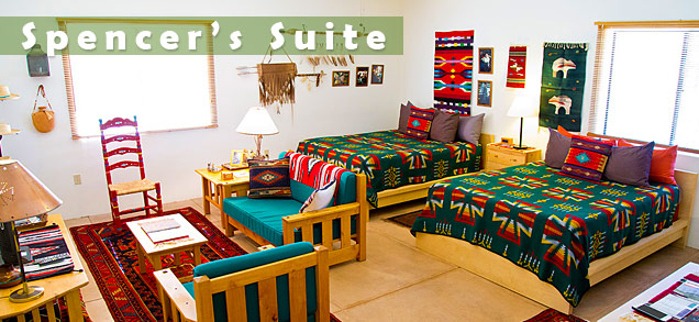 Spencer's Suite at Cat Mountain Lodge B&B in Tucson, Arizona